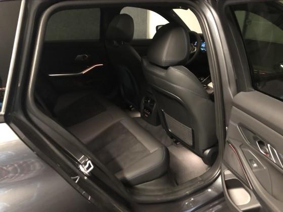 BMW 330xe touring mineralgrau metallic